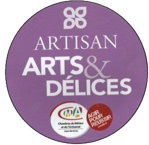 Logo Artisan Arts, et Délices